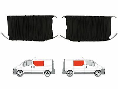 LWB Rear Quarter Panel VW T5 Transporter 03-15 GREY Tailored Curtain