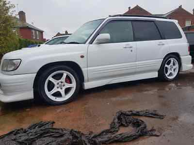 Subaru forester STB JDM IMPORT 2000 plate manual