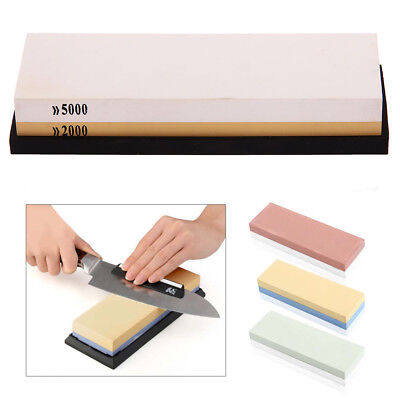 Double-sided Sharpening Stone Waterstone Dual Whetstone 600/1500 2000/5000