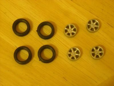 "5 spoke dished alloy wheels pack of 4 suitable for cars with 16"" K & R Replicas"