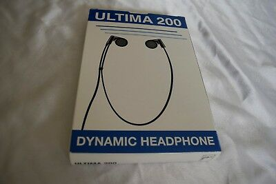 """Ultima 200 Transcription Headset with 3.5mm 1/8"""" connector mono headset"""