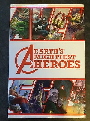 AVENGERS Earths Mightiest Heroes HC Graphic Novel 1st Print 2005