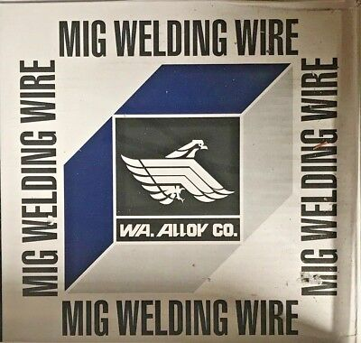 """33 Lb Roll .035"""" Mild Steel MIG Welding Wire ER70S-6  Fast Free Shipping!"""