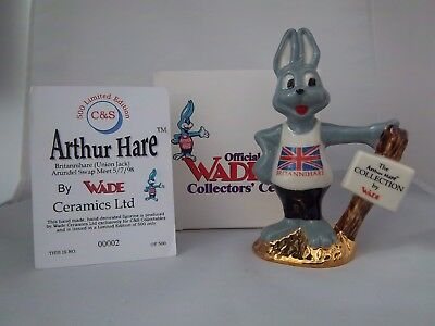 WADE BRITANNIHARE GOLD BASE - C&S COLLECTABLES 1998/99 - Excellent Condition