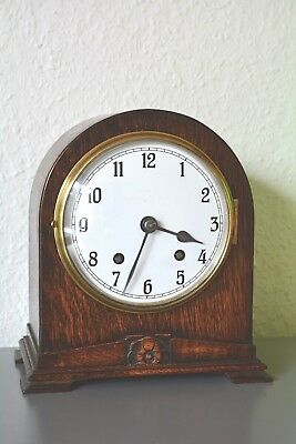 EMPIRE Vintage mantle clock. Made in England. Running. Chimes.