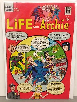 Life With Archie November #55 1966 Comic Book