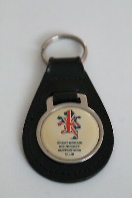 Great Britain Ice Hockey Supporters Club Keyring
