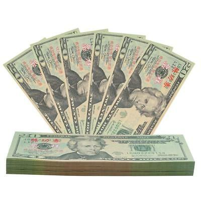 Security Prop Money Props for Movies Realistic Double Sided Students Kids Toy