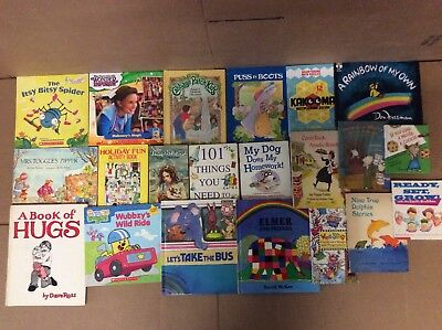 Lot of 20 K-5 Scholastic Learn to Read Picture Mix Set Kid Children Book #F55 NR