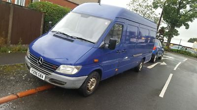 Mercedes Sprinter Lwb spares or repairs
