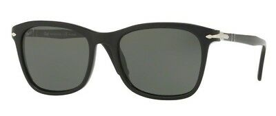 c177b9ae1f Persol OFFICINA PO 3192S Black Grey Green Polarized (95 58) Sunglasses