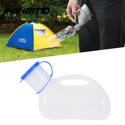 Car Handle Urine Bottle Urinal Travel Camp Urination Device Pee Toilet HF