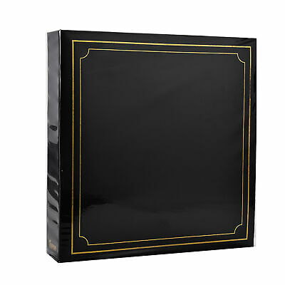"Photo Picture Album 3 Ring Binder for 500 Photo's 6x4"" Black by Arpan Great Gift"