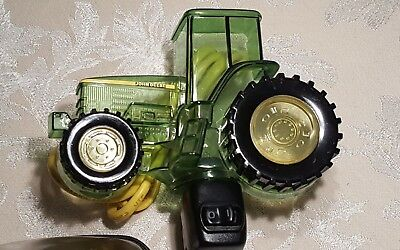 John Deere Green Combine Night Light Plastic  Works