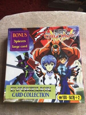 Evangelion Card Collection Trading Card Game Gainax Project Eva 1998