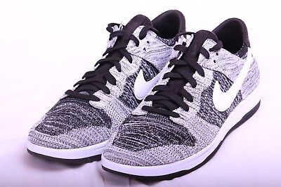 factory price 3d09d 05bf3 Nike Mens Dunk Flyknit Black White Oreo 917746 003 Size 13