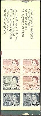 1971 Canada #544a MNH 10 Booklets (Bklt. #69) of 6 With 10 Different Covers
