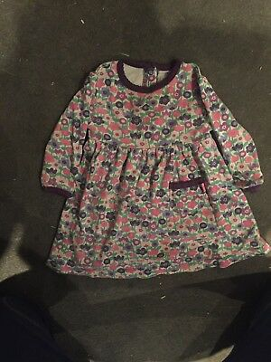 jojo maman bebe 6-12 months girls floral dress
