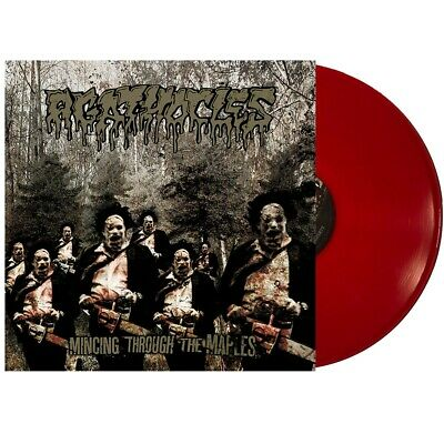 AGATHOCLES - Mincing through the maples - LP - Red
