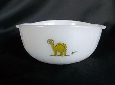 Vtg Anchor Hocking Fire King BC Comic by Hart Berry/Cereal/Soup Bowl