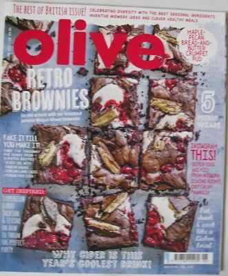Olive Magazine June 2017  New - Retro Brownies Issue