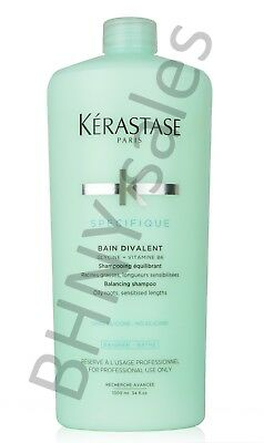 Kerastase Specifique Bain Divalent Shampoo 34 oz. With pump!!