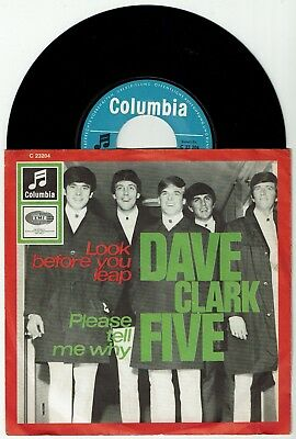 DAVE CLARK FIVE * Look Before You Leap * COLUMBIA * D-Orig. Beat 45 * MP3