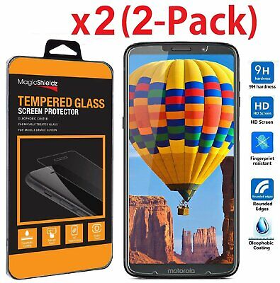 2-Pack Premium Tempered Glass Screen Protector for Motorola Moto Z3 / Z3 Play