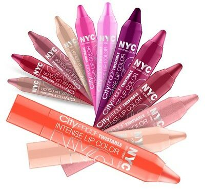 N.Y.C. New York Color City Proof Twistable Intense Lip Color (Pick Shade)