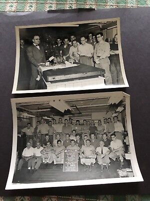 New holland machine co 1950's employees photos hit miss engine feed grinder