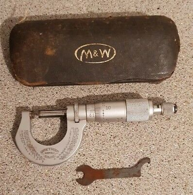 Moore and wright micrometer vintage