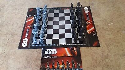 Star Wars Chess Set- Complete