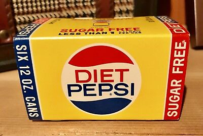 1960s Diet Pepsi Matches Six Pack (NOS)