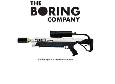 The Boring Company Not A Flamethrower (Everything Included) BRAND NEW, UNOPENED