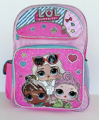 """LOL Surprise: 12""""inches School Backpack (Brand new &Licensed)"""