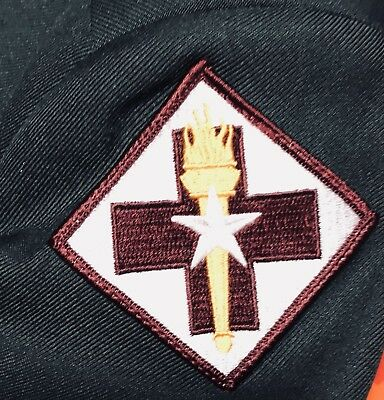 US Army 32nd Medical Brigade dress uniform patch