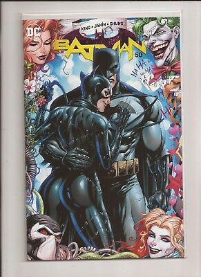 Batman #50 Tyler Kirkham Exclusive Variant Nm Wedding Catwoman Rare Joker