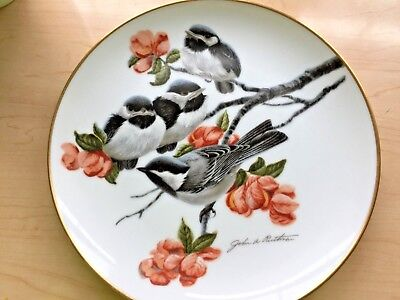 """1978 SIGNED Ruthven Limited Edition Plate- """""""" Fairmont China"""