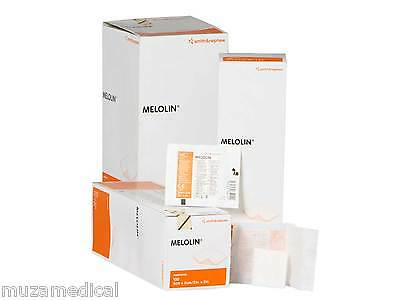 Smith & Nephew Melolin Cushioned Dressings Pad Non Adherent Sterile for Wounds