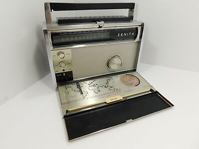 Zenith Royal R-3000-1 All Transistor Trans-Oceanic Radio Receiver SN Unknown