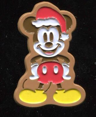 Holiday Gingerbread Mickey 2017 LE Disney Pin 125454