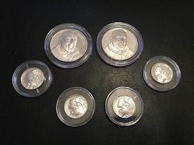 Lot Of 6 Vatican City Medal/coins!