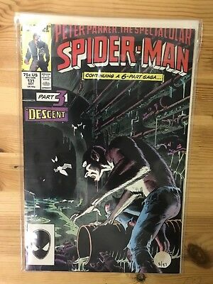Peter Parker, The Spectacular Spider-Man 131 - 140  10 Books