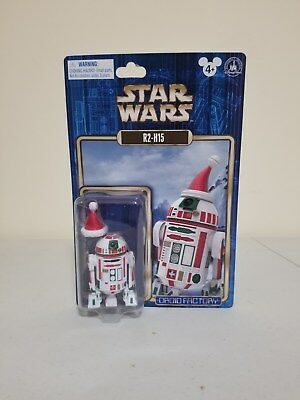 Disney Theme Parks Exclusive Star Wars Droid Factory R2-H15 Christmas 2015 NEW