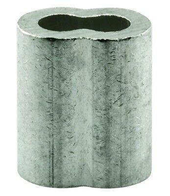 "Prime-Line Products GD 12258 Cable Ferrules, 5/16"", Extruded Aluminum Pack of 20"