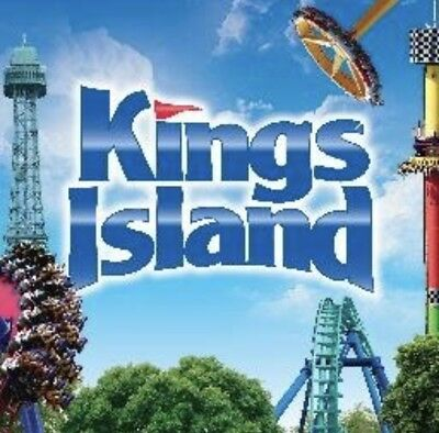 KINGS ISLAND Ticket $19 + PARKING & MEAL DEAL Promo SAVE Discount Tool $57.00