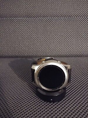 SAMSUNG GEAR S3 Classic SmartWatch SM-R770 46mm 4GB Black/Large SS/Leather Tizen
