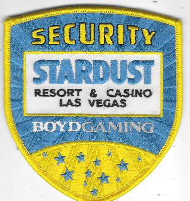 "Police Patch: Security Stardust Resort & Casino Las Vegas Boydgaming 4"" X 4"""