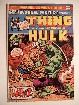 Marvel Feature #11 - Marvel 1973 - The Thing and the Hulk!  Together Again!