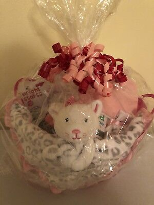 Baby Shower Girl's Kitty Gift Basket